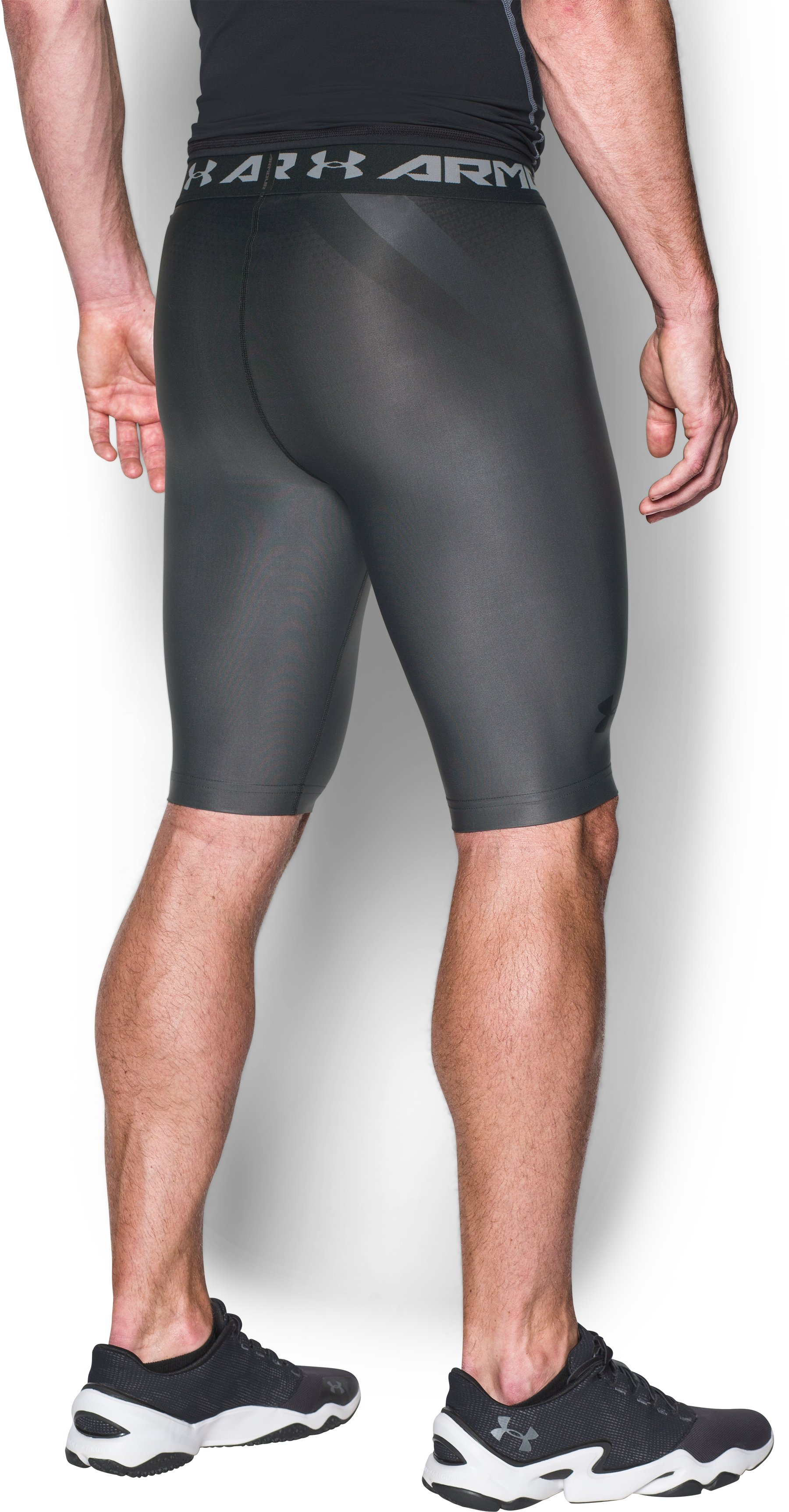 Men's UA Charged Compression Shorts, Graphite
