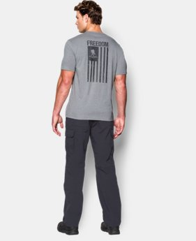 Men's WWP Freedom Flag T-Shirt LIMITED TIME: FREE U.S. SHIPPING 3 Colors $14.24 to $18.99