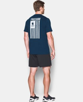 Men's WWP Freedom Flag T-Shirt  1 Color $18.99