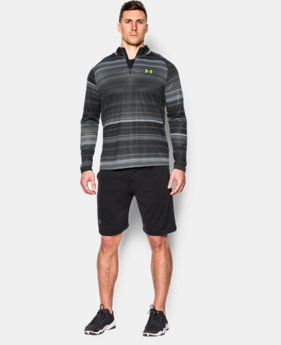 Men's UA Tech™ Printed ¼ Zip  4 Colors $59.99