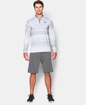 Men's UA Tech™ Printed ¼ Zip  1 Color $59.99