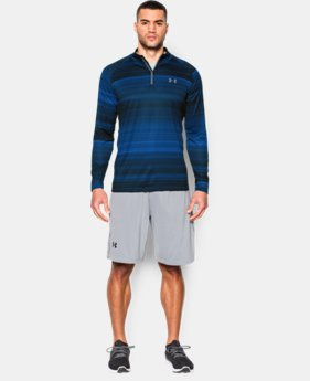 Men's UA Tech™ Printed ¼ Zip LIMITED TIME: FREE SHIPPING 1 Color $49.99