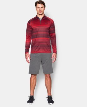Men's UA Tech™ Printed ¼ Zip LIMITED TIME: FREE SHIPPING  $59.99