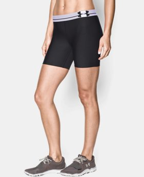 Women's UA Armour Mid Short  1 Color $13.49 to $17.99