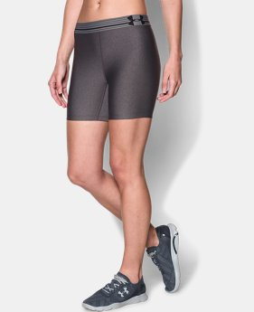Women's UA Armour Mid Short LIMITED TIME: FREE U.S. SHIPPING 1 Color $17.99