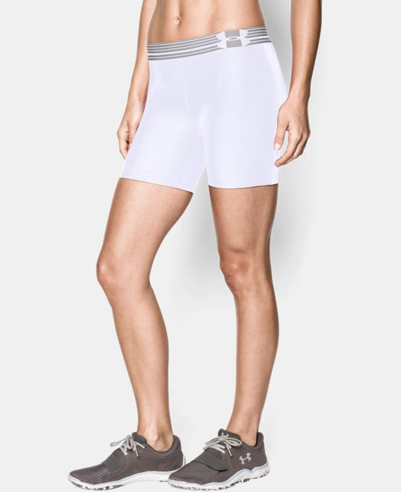 Women's UA Armour Mid Short  1 Color $20.24