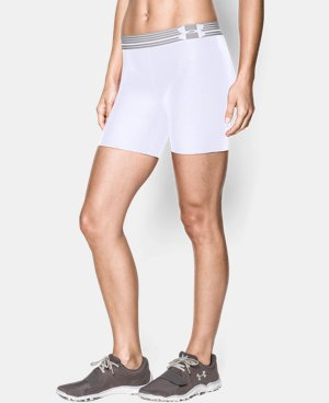 Women's UA Armour Mid Short  1 Color $26.99