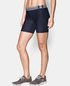 Women's UA Armour Mid Short LIMITED TIME: FREE U.S. SHIPPING 1 Color $13.49 to $17.99