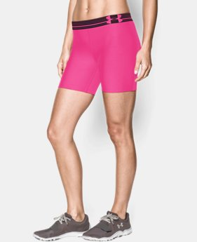 Women's UA Armour Mid Short  3 Colors $13.49 to $17.99