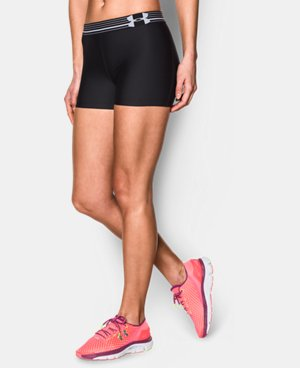 Women's UA HeatGear® Armour Shorty LIMITED TIME: FREE U.S. SHIPPING 3 Colors $14.24 to $14.99