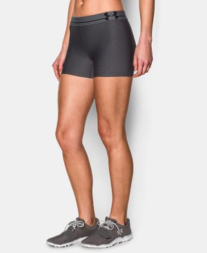 Women's UA HeatGear® Armour Shorty LIMITED TIME: FREE U.S. SHIPPING 4 Colors $14.24 to $14.99