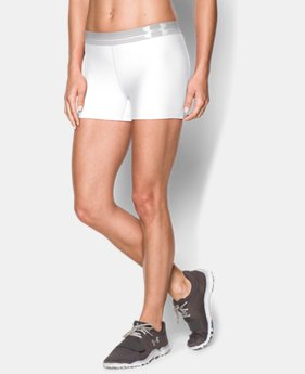 Women's UA HeatGear® Armour Shorty  2 Colors $14.99 to $18.99