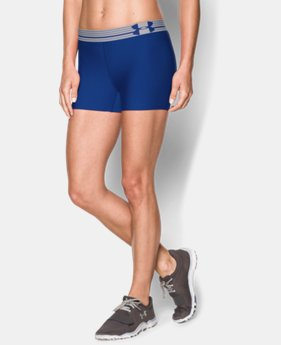 Women's UA HeatGear® Armour Shorty  3 Colors $14.24 to $18.99
