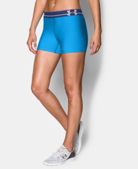 Women's UA HeatGear® Armour Shorty LIMITED TIME: FREE U.S. SHIPPING 2 Colors $14.24 to $14.99