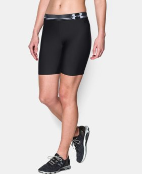 Women's UA HeatGear® Armour Long Short  7 Colors $17.99 to $22.99