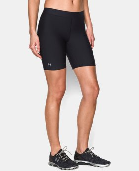 Women's UA HeatGear® Armour Long Short  4 Colors $13.49 to $22.99