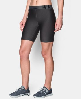 Women's UA HeatGear® Armour Long Short LIMITED TIME: FREE U.S. SHIPPING 1 Color $13.49 to $17.24