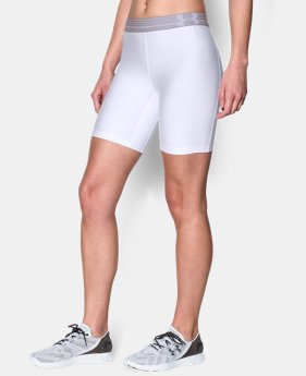 Women's UA HeatGear® Armour Long Short LIMITED TIME: FREE U.S. SHIPPING 2 Colors $13.49 to $17.99