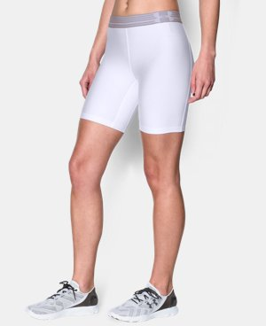 Women's UA HeatGear® Armour Long Short LIMITED TIME: FREE U.S. SHIPPING 1 Color $13.49 to $17.99