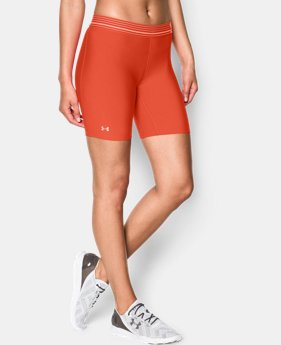 Women's UA HeatGear® Armour Long Short
