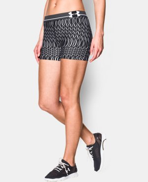 Women's UA HeatGear® Armour Printed Shorty  7 Colors $13.49 to $17.99