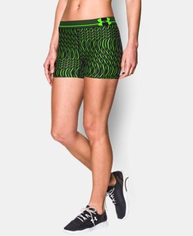 Women's UA HeatGear® Armour Printed Shorty  13 Colors $17.99 to $22.99