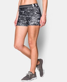 Women's UA HeatGear® Armour Printed Shorty  5 Colors $13.49 to $17.99