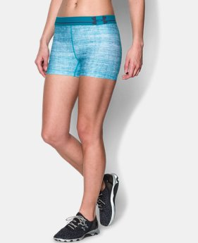 Women's UA HeatGear® Armour Printed Shorty EXTRA 25% OFF ALREADY INCLUDED 2 Colors $13.49 to $17.99