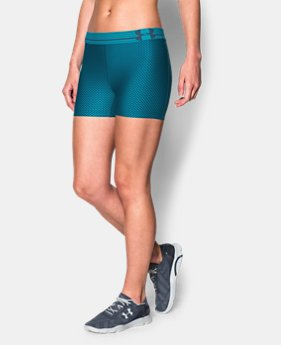 Women's UA HeatGear® Armour Printed Shorty LIMITED TIME: FREE U.S. SHIPPING 2 Colors $13.49 to $17.99
