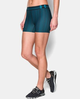 Women's UA HeatGear® Armour Printed Shorty  2 Colors $13.49 to $17.99