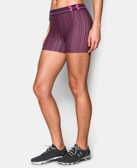 Women's UA HeatGear® Armour Printed Shorty  11 Colors $17.99 to $22.99