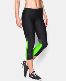 Women's UA HeatGear® Armour Capri  2 Colors $23.99