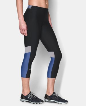 Women's UA HeatGear® Armour Capri LIMITED TIME: FREE U.S. SHIPPING 1 Color $23.99