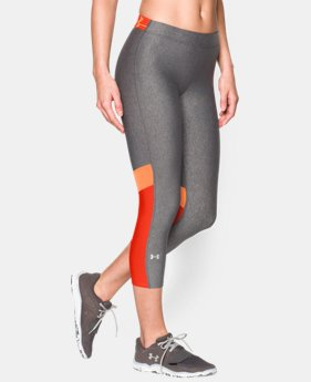 Women's UA HeatGear® Armour Capri  1 Color $23.99