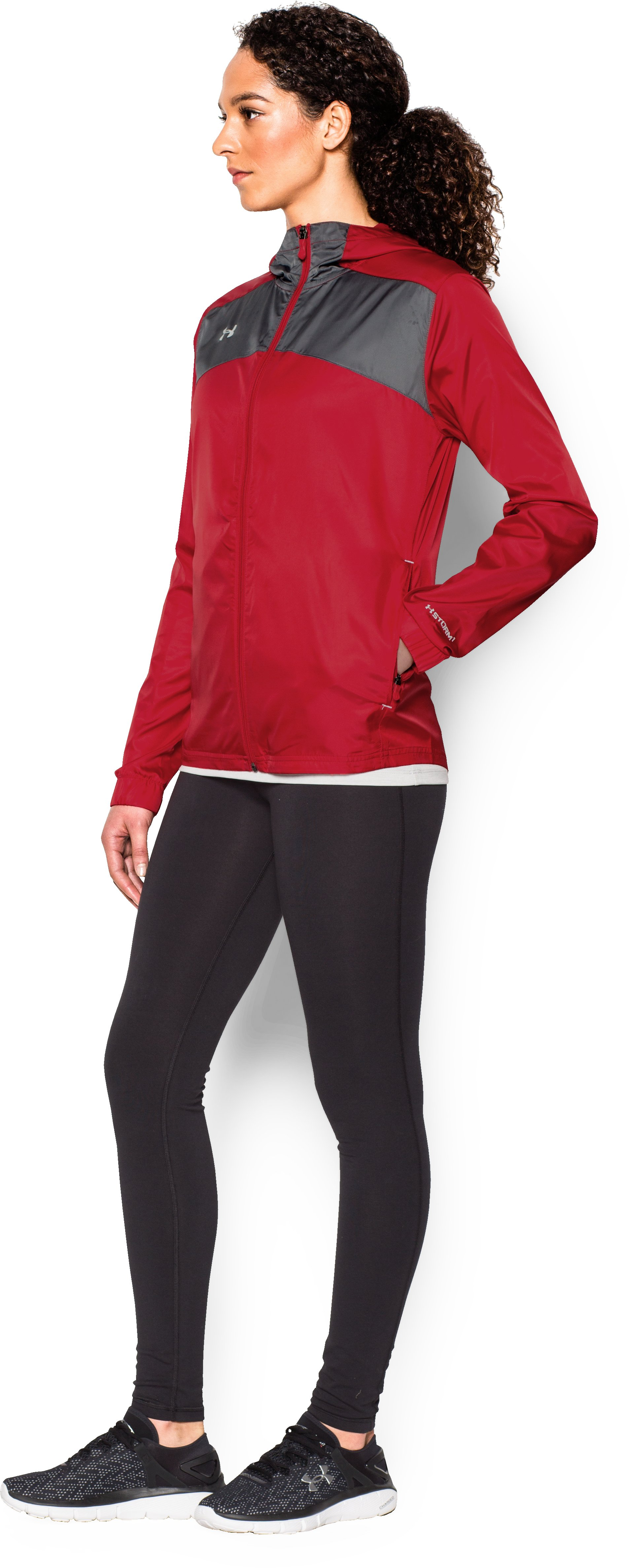 Women's UA Futbolista Shell, Red, undefined