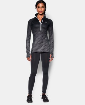 Women's UA ColdGear® Cozy Sublimated ½ Zip
