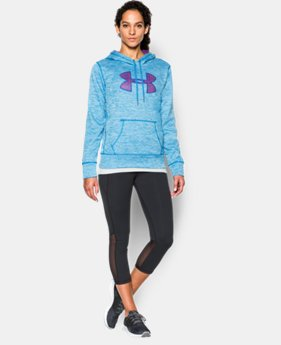 Women's UA Big Logo Twisted Hoodie