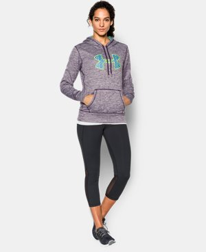Women's UA Big Logo Twisted Hoodie LIMITED TIME: FREE U.S. SHIPPING 1 Color $59.99