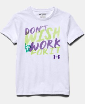 Girls' UA Don't Wish For It T-Shirt