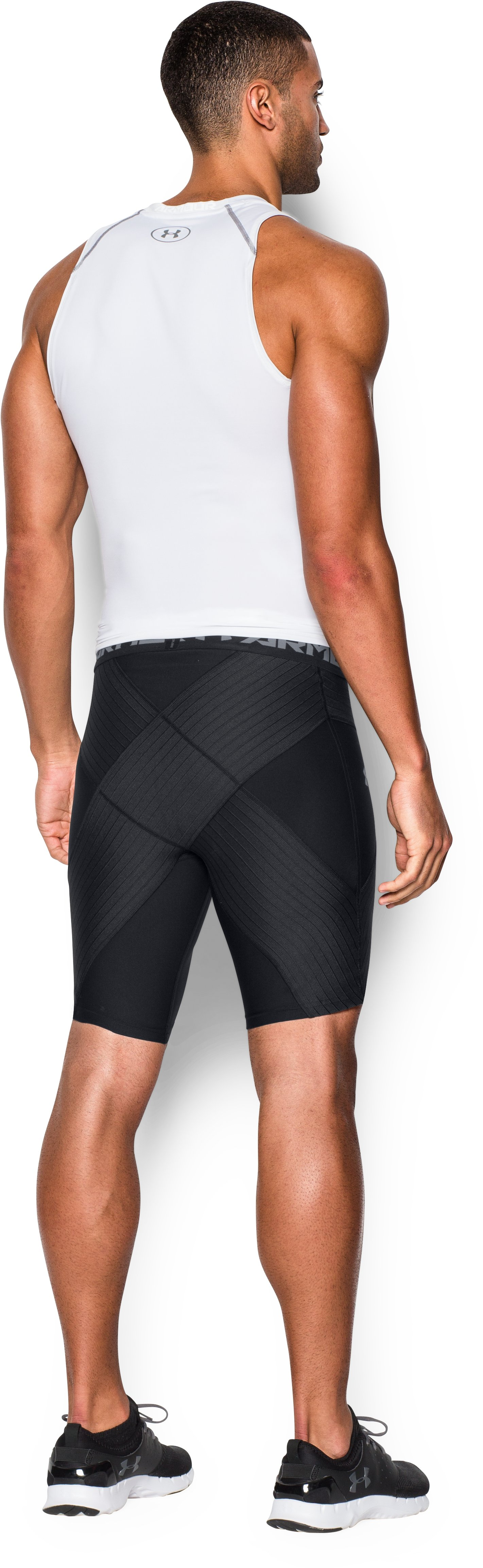 Men's UA Coreshort Pro, Black , Back
