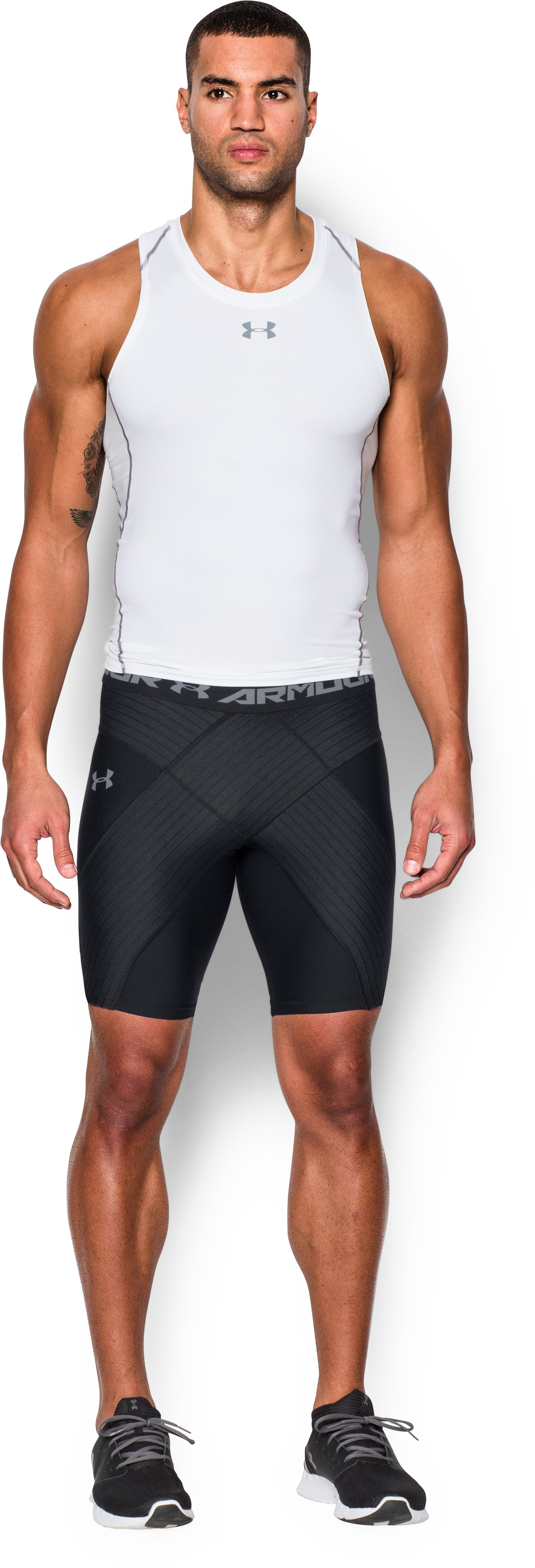 Men's UA Coreshort Pro, Black , Front