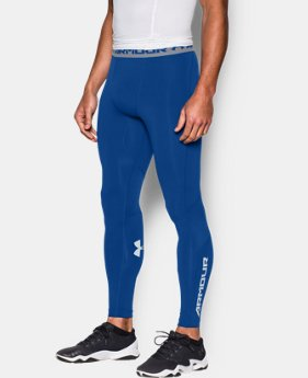 Men's UA CoolSwitch Compression Leggings LIMITED TIME: FREE U.S. SHIPPING 3 Colors $28.49 to $37.99