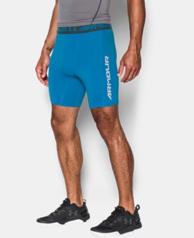Men's UA CoolSwitch Compression Shorts LIMITED TIME: FREE U.S. SHIPPING 4 Colors $20.24 to $26.99