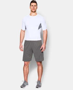 Men's UA CoolSwitch Short Sleeve Compression Shirt LIMITED TIME: FREE U.S. SHIPPING 4 Colors $20.24 to $26.99