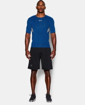 Men's UA CoolSwitch Short Sleeve Compression Shirt  4 Colors $