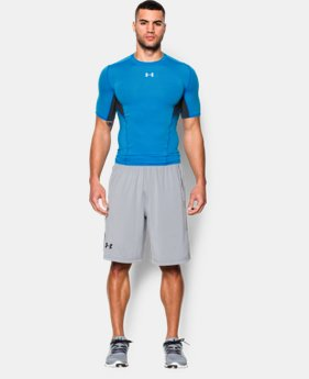 Men's UA CoolSwitch Short Sleeve Compression Shirt  3 Colors $26.99