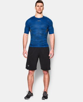 Men's UA CoolSwitch Armour Short Sleeve Compression Shirt