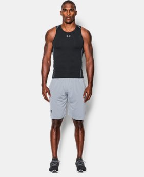 Men's UA HeatGear® Armour Compression Tank LIMITED TIME: FREE SHIPPING 1  Color Available $29.99