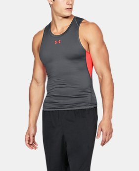 Men's UA HeatGear® Armour Compression Tank  3  Colors $24.99
