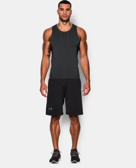 Men's UA HeatGear® Armour Compression Tank LIMITED TIME: FREE SHIPPING 1 Color $29.99